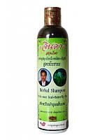 Травяной шампунь от выпадения волос с синим чаем Джинда Jinda Herbal Hair Shampoo, 250 г