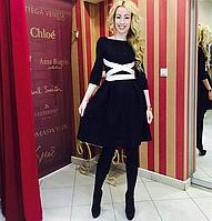 Платье Imperial Италия черное кружево