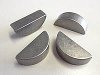 Шпонка DIN 6888 — шпонка сегментная полукруглая.