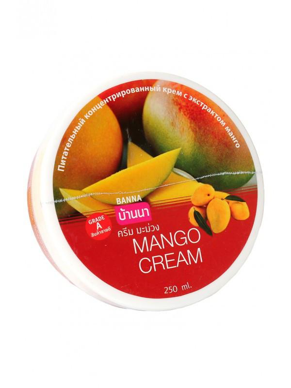 Живильний концентрований крем з екстрактом манго Banna Mango Cream, 250 г