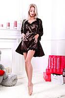 Комплект женский пеньюар с халатом , фото 1