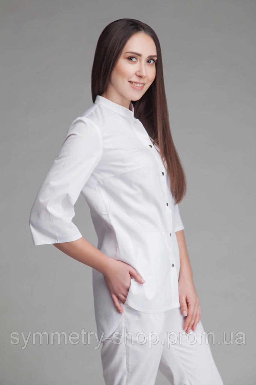 Блуза T004, белая