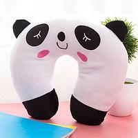 Подушка под голову - подкова (панда)