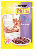 Корм Пауч Фрискис для котят Ягненок в желе (Friskies) 100г