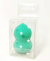 Спонж для макияжа качественный Зелёный, фото 1