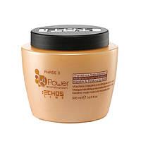 Маска Кератиновая (укрепляющая) для молекулярного восстановления волос Этап 3: Ki Power Echosline 500 мл
