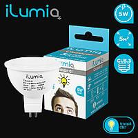 Ilumia LED  MR-16 / 5Вт / GU-5.3 / 3000К (теплый белый) (017)