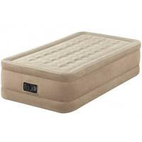 Надувная кровать со встроенным насосомIntex 64456,191*99*46см
