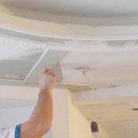 Обробка міжрівневих торців стелі