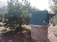 Установка домиков на колодец