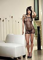 Эротическое бесшовное платьице из полос , фото 1