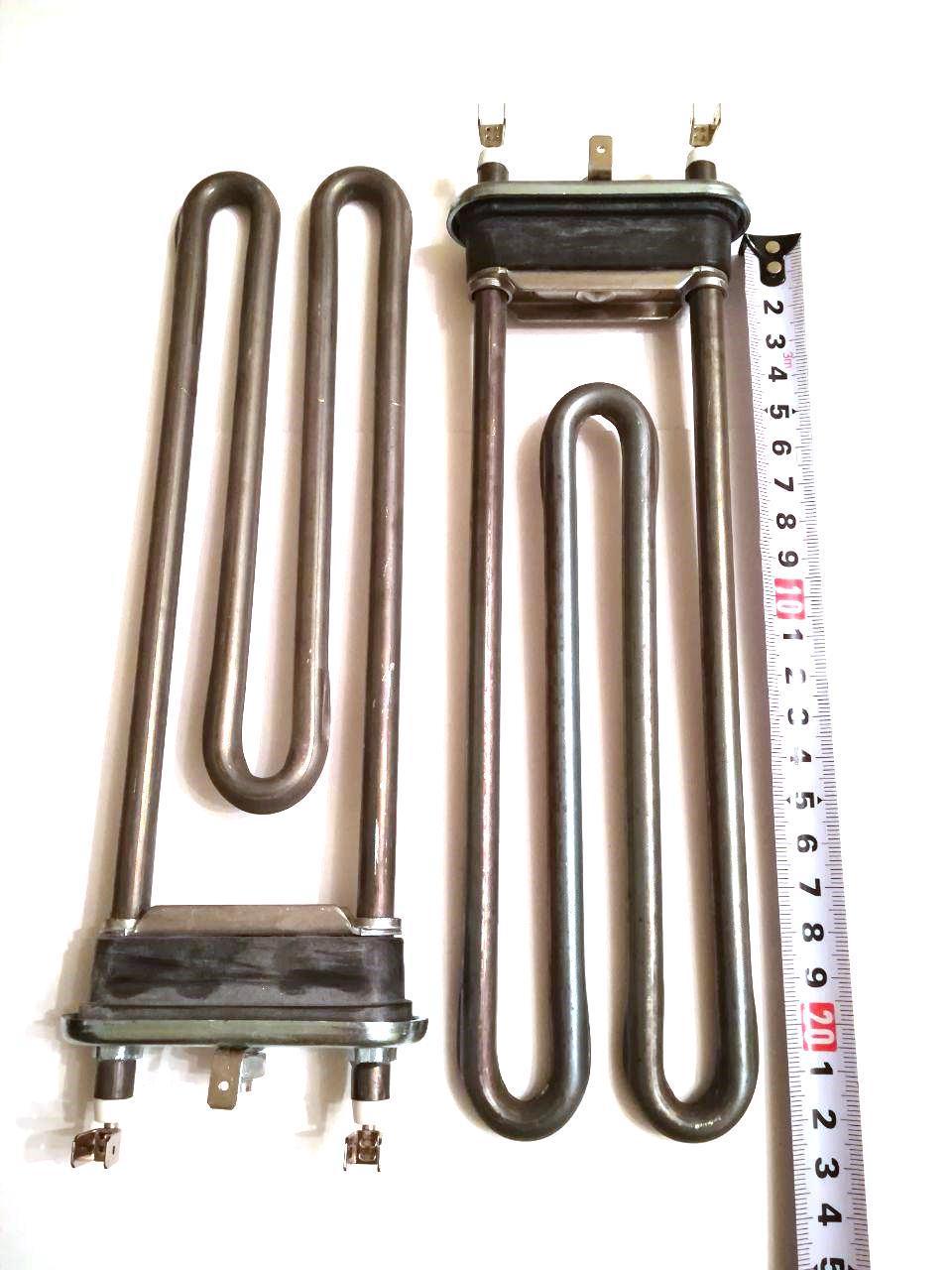 Тэн на стиральную машину 1950W / L=230мм (без отверстия под датчик)  / Thermowatt (Италия)