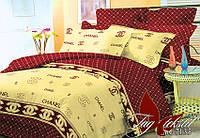 Евро комплект постельного белья  R7135
