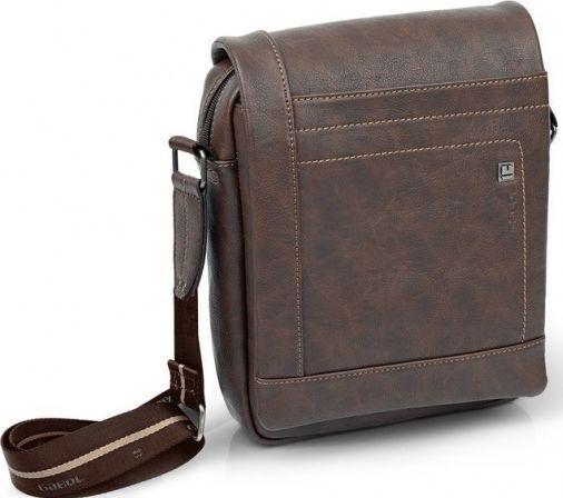0d3559be2458 Мужская сумка Gabol Borneo Brown из кожзама 925022 - SUPERSUMKA интернет  магазин в Киеве