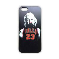 Чехол для iPhone 5/5S Мэрилин Монро Bulls 23