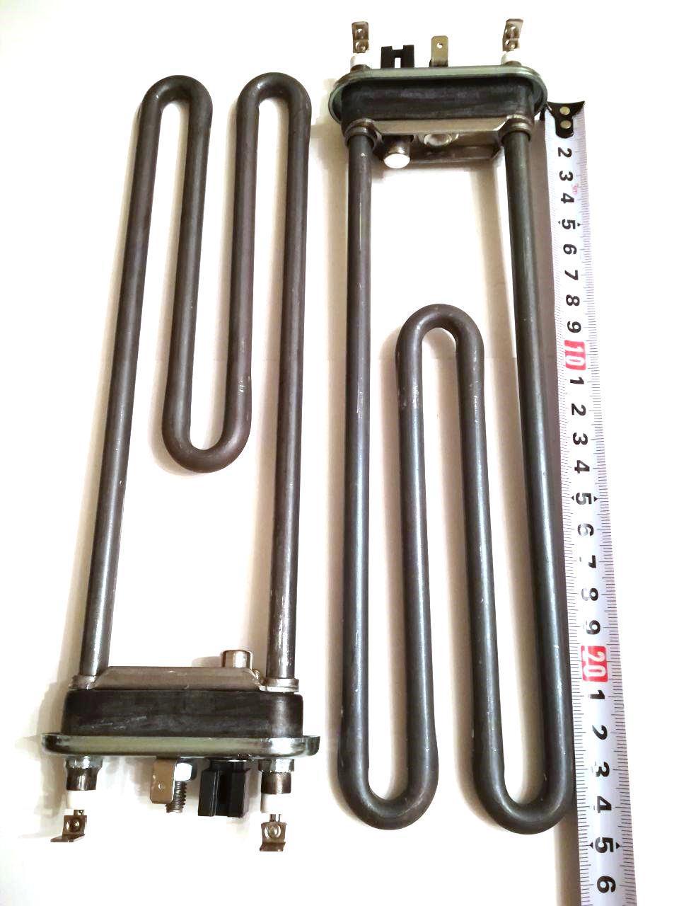 Тэн на стиральную машину 2050W / L=245мм под датчик / Thermowatt (Италия)