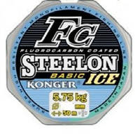 Леска Konger Steelon FC Basic ICE 0.10mm/50m