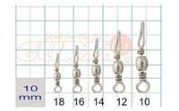 Застежка Gurza Barrel swivel/Line Clip SWS-9100 №12
