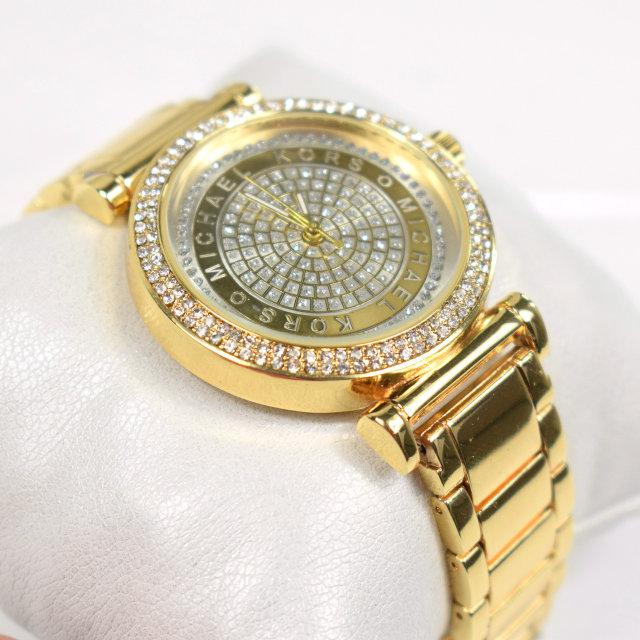 """Часы женские, наручные, золотые """"Michael Kors"""", аксессуары женские, повседневные, магазин часов"""