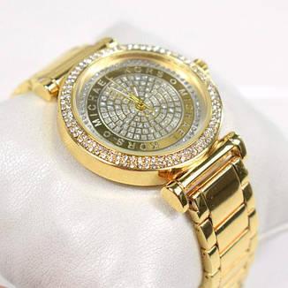 """Часы женские, наручные, золотые """"Michael Kors"""", аксессуары женские, повседневные, магазин часов, фото 2"""