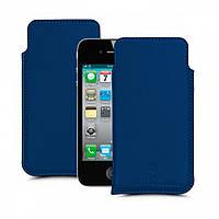 Футляр Stenk Elegance для Apple iPhone 4S Синий