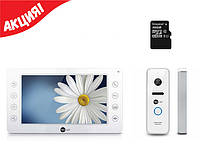 Комплект видеодомофона NeoLight Kappa+ / Optima / карта памяти