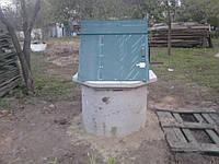 Домики колодца установка