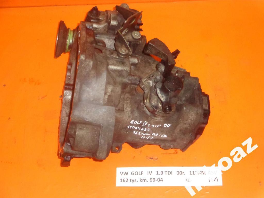 КПП/Коробка передач VW GOLF IV 1.9TDI DEA