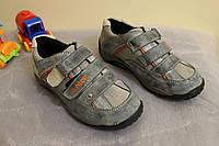 Туфли для мальчика Голубые Размер 31- 36