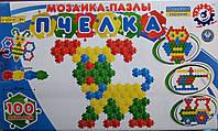 """Мозайка - пазлы """"Пчелка"""" 100 эл. 1035 (4) """"ИНТЕЛКОМ"""" [коробка]"""
