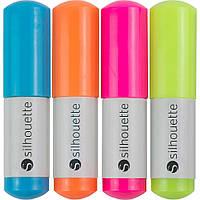 Ручки в плоттер Silhouette Sketch Pens 4/Pkg Neon: Pink, Green, Orange, Blue