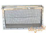 Изолятор сетчатый оцинкованный на улей типа «Рута» на 1 рамку, фото 2