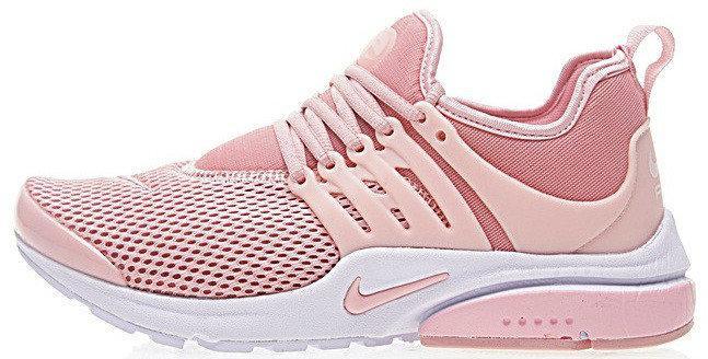 Женские кроссовки Nike Air Presto Pink (Найк Аир Престо) розовые