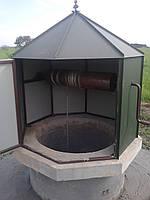 Доставка и установка домиков для колодцев