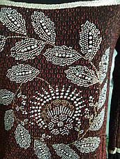 Нарядная кофта с цветами, фото 2