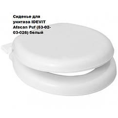 Сиденье для унитаза IDEVIT Afacan Puf (53-02-03-026) белый