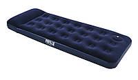Надувной одноместный матрас bestway со встроенным ножным насосом 67223 188х76х28см.