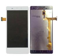 Оригинальный дисплей (модуль) + тачскрин (сенсор) для Fly IQ453 Quad Luminor (белый цвет)