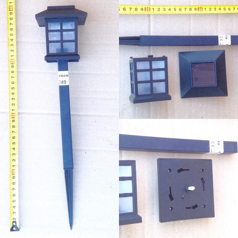 Газонный светильник на солнечной батарее домик CAB 121 Lemanso