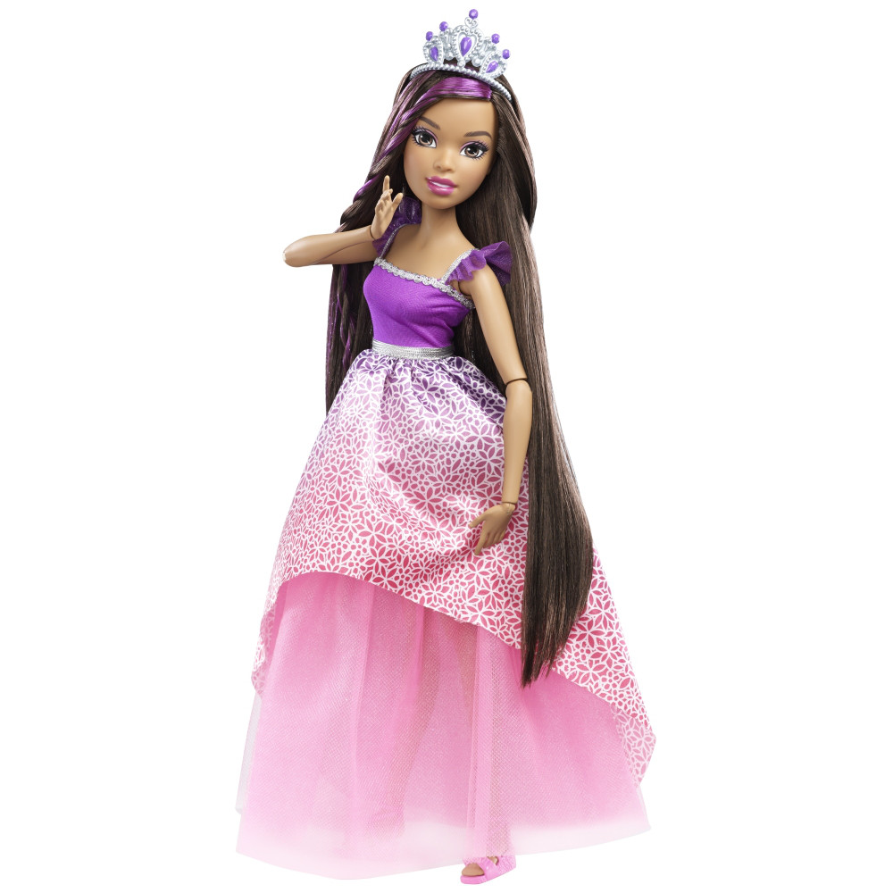 Кукла Барби Barbie большая 43 см  с длинными волосами брюнетка