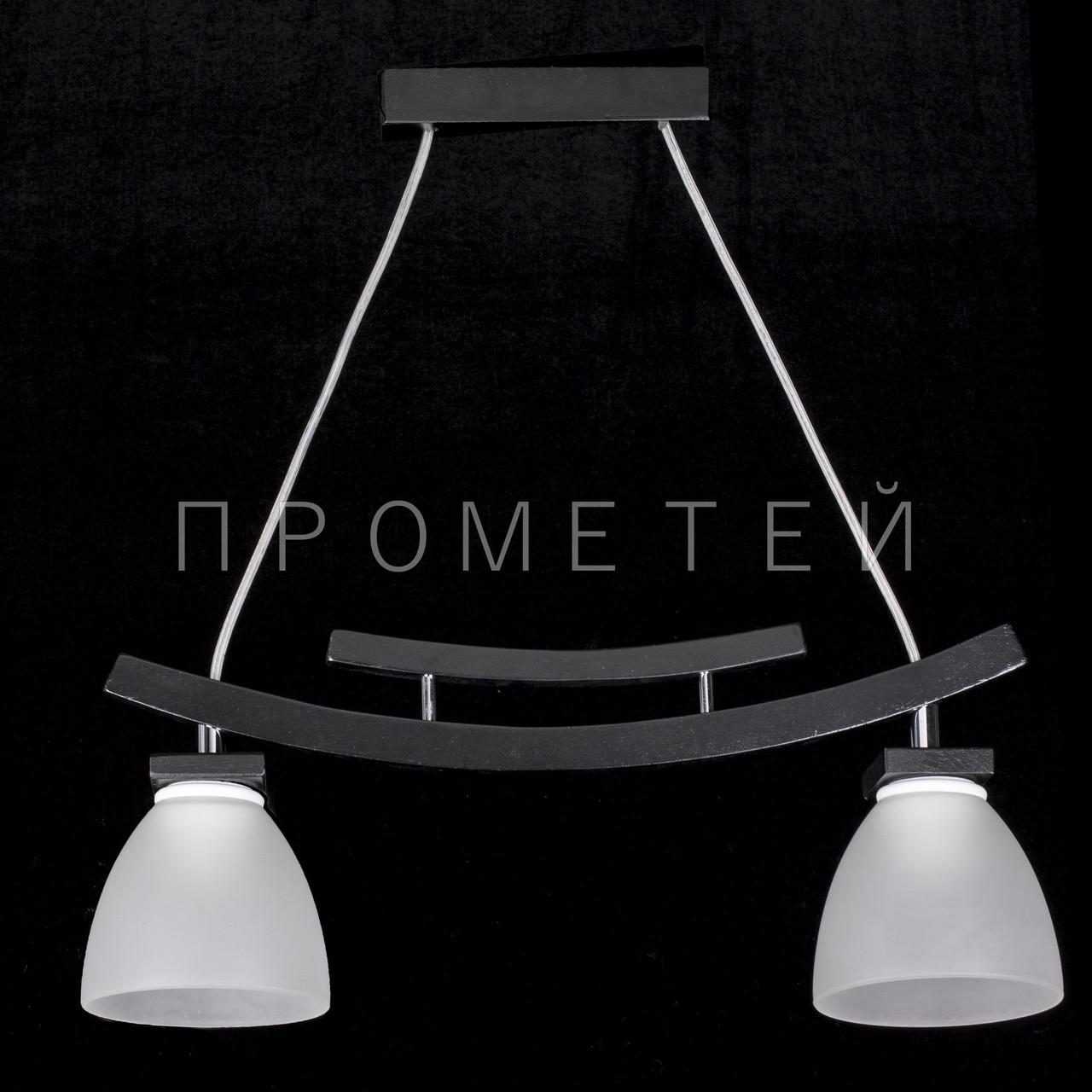 Люстра на 2 лампочки P3-1154/2P/DK+WT