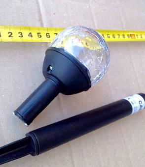 Газонный светильник на солнечной батарее шар CAB 118 Lemanso, фото 2