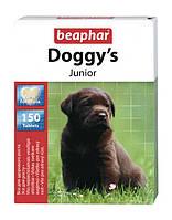 """Кормовая добавка для щенков и юниоров """"Beaphar Doggy's Junior"""", 150 таб."""