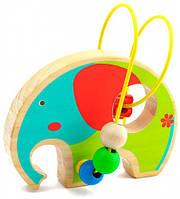 Лабиринт Слон, Мир деревянных игрушек (Д345)
