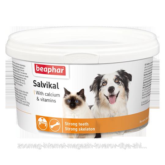 """Кормовая добавка """"Beaphar Salvikal"""" для беременных, кормящих и растущих кошек и собак, 250г"""
