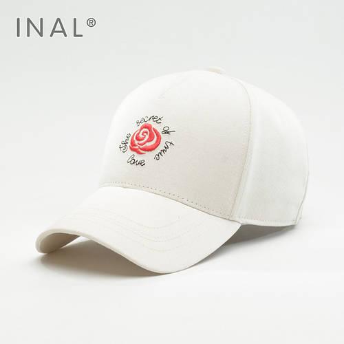 Кепка бейсболка, Rose, Хлопок, Белый, Inal