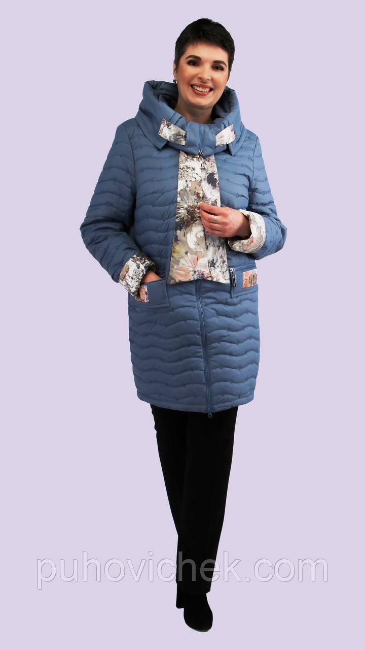 Весенние куртки женские весна осень стеганные
