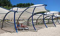 Пляжные шатровые навесы