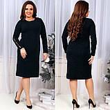Модное женское трикотажное платье, фото 3
