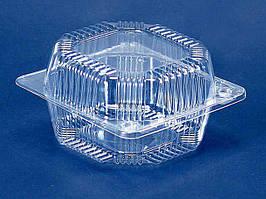 Одноразовый контейнер для продуктов ПС-10 (V800мл\ 135*130*74) (50 шт/пач)